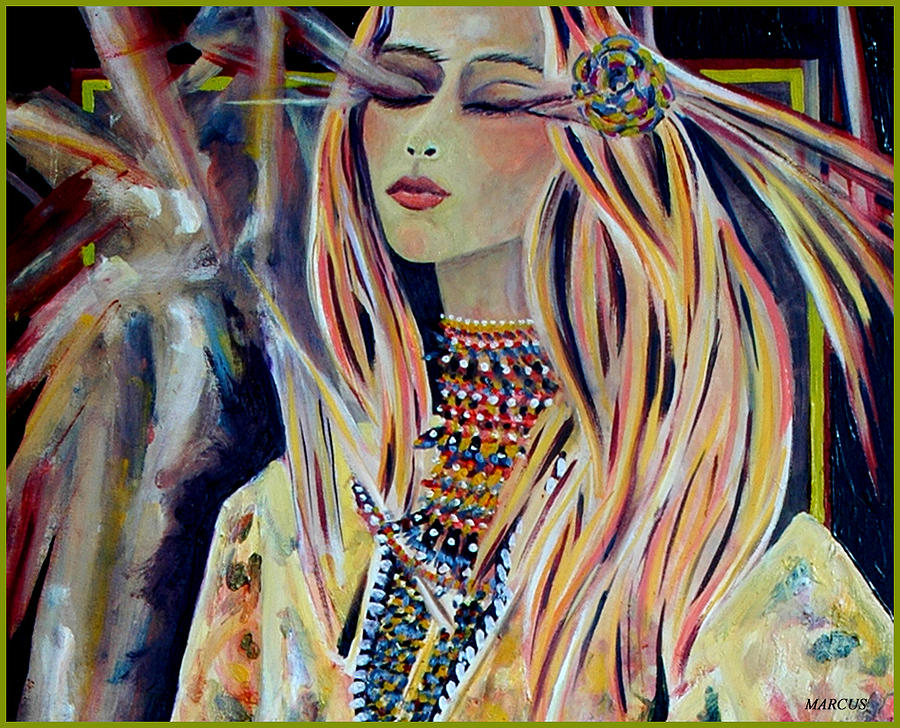 Yohanna Painting by Leslie Marcus
