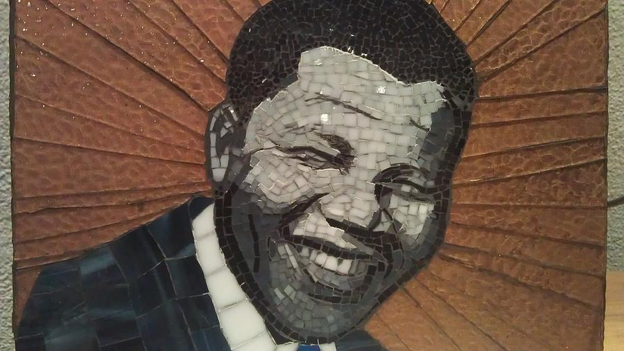 Young Nelson Mixed Media by Dalene Smit