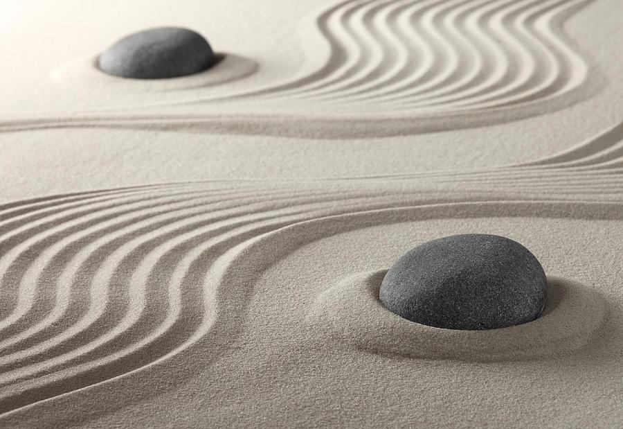 Zen Garden Photograph By Dirk Ercken