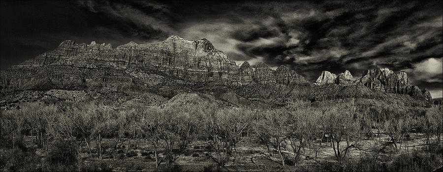 Utah Photograph - Zion by Robert Fawcett