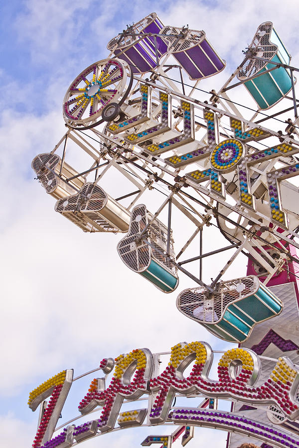 Ride Photograph - Zipper by Caitlyn  Grasso