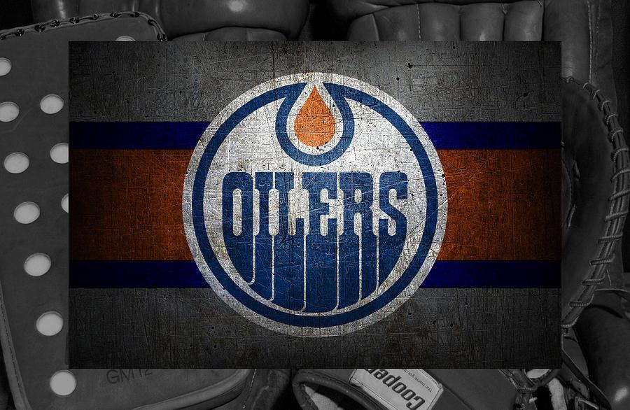 Oilers Photograph - Edmonton Oilers by Joe Hamilton