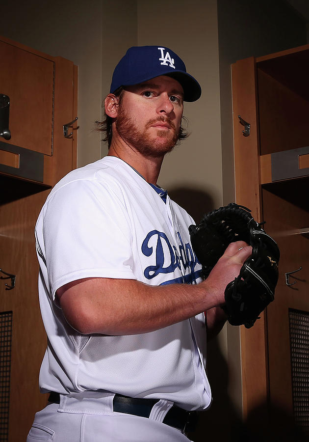 Los Angeles Dodgers Photo Day 10 Photograph by Christian Petersen