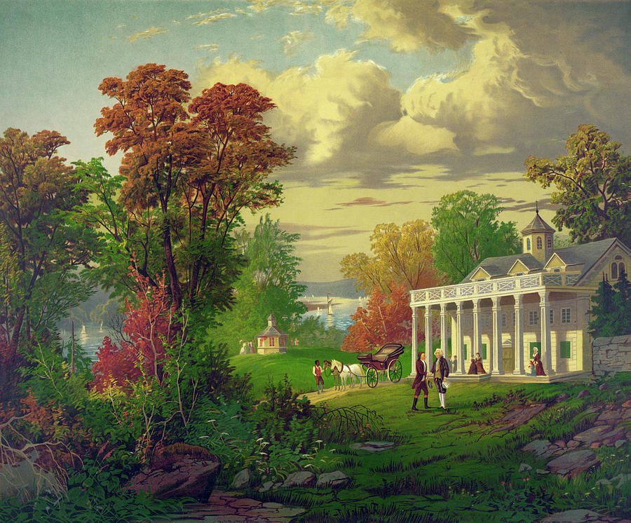 1878 Painting - Mount Vernon by Granger