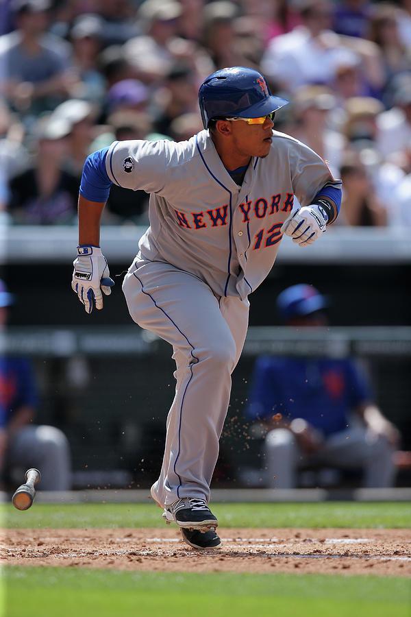 New York Mets V Colorado Rockies 10 Photograph by Doug Pensinger