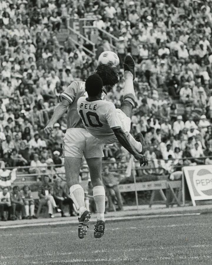 Classic Photograph - Pele by Retro Images Archive