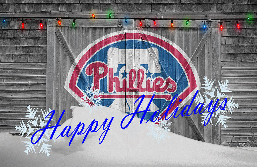Phillies Photograph - Philadelphia Phillies by Joe Hamilton