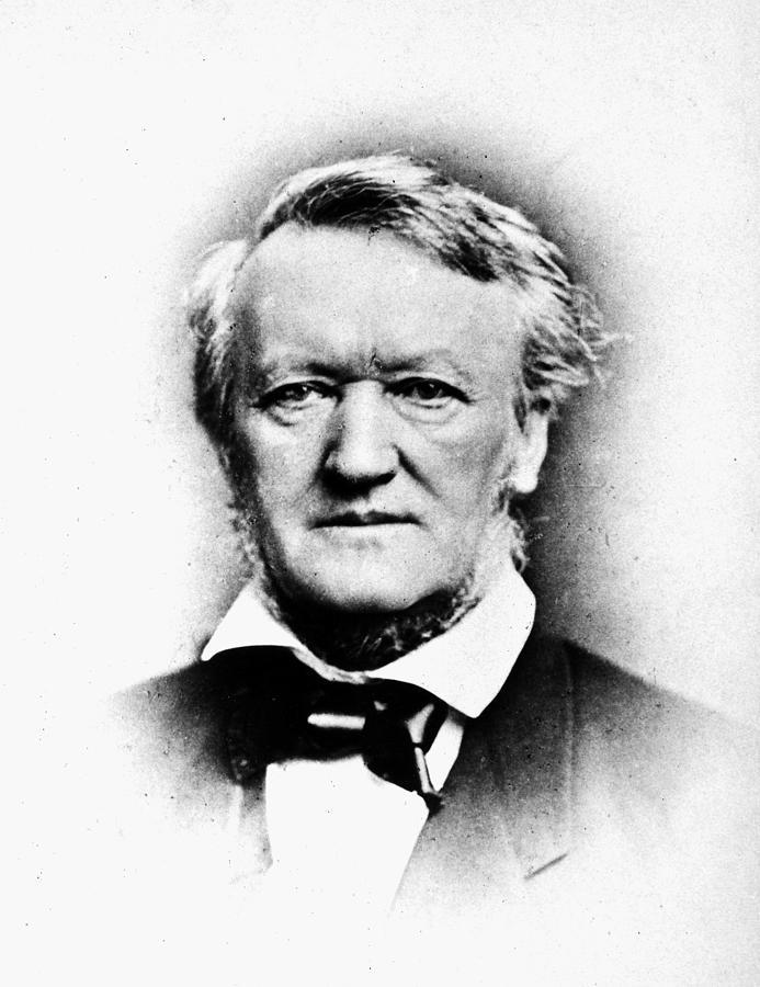 1876 Photograph - Richard Wagner (1813-1883) by Granger