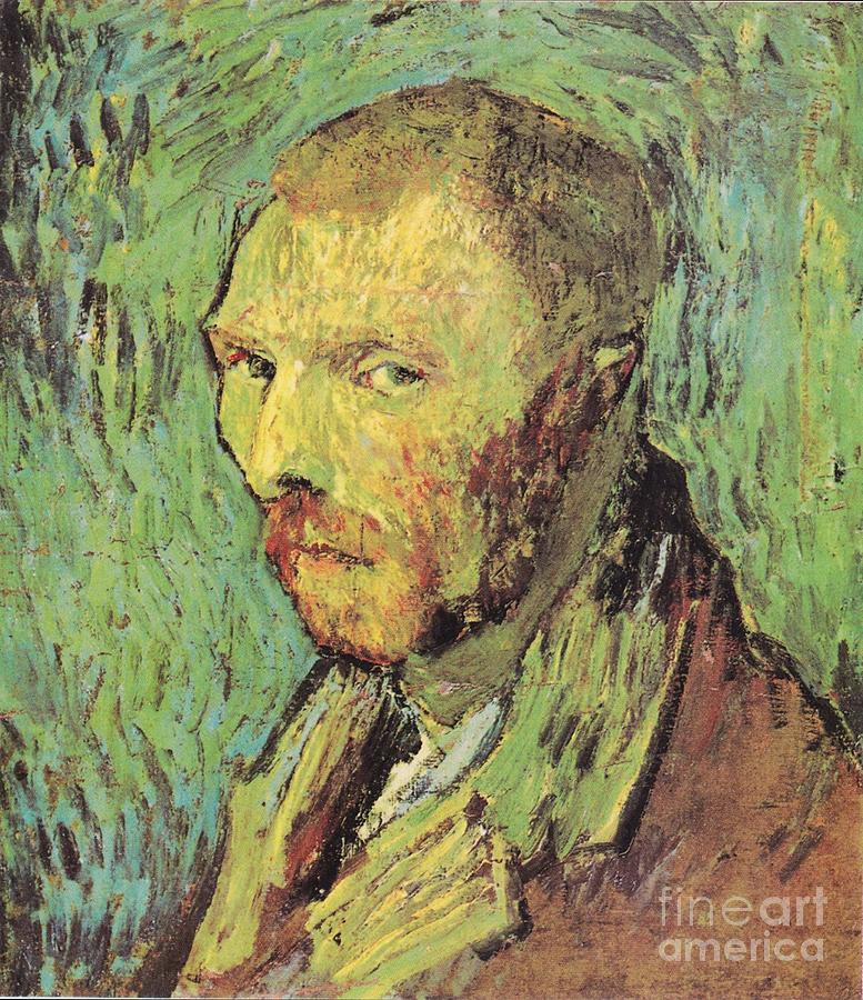 Vincent Painting - Self Portrait by Vincent Van Gogh
