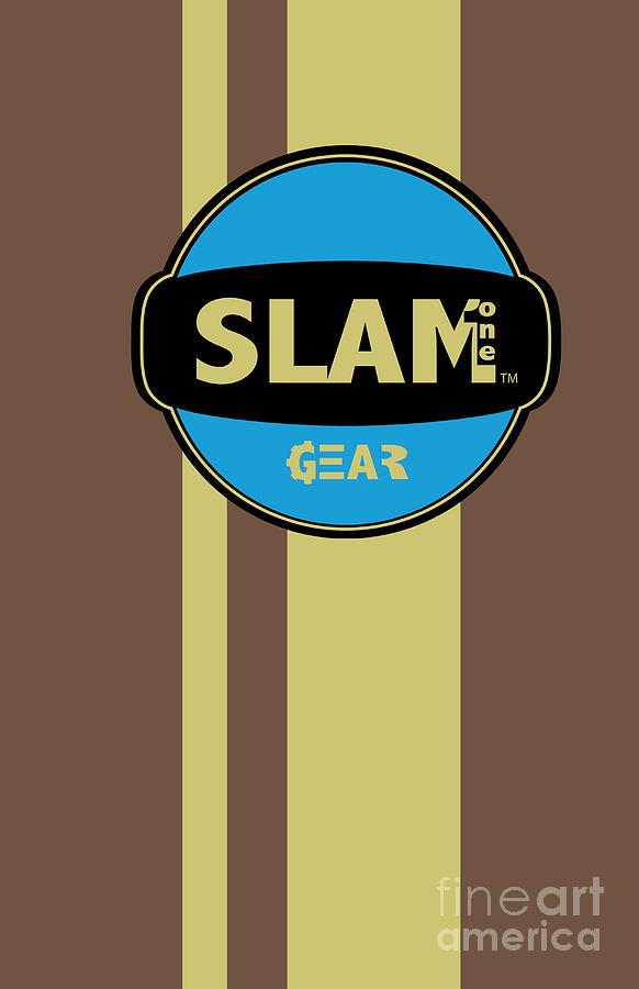Slam One Gear Digital Art - Slam One Gear by James Eye