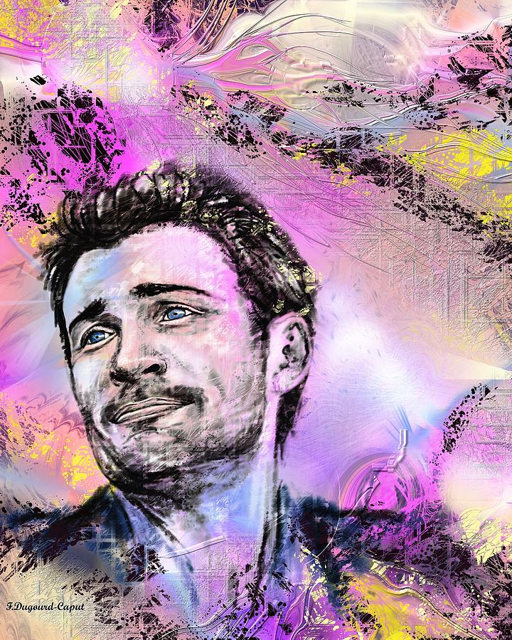 Portrait Digital Art - Tom by Francoise Dugourd-Caput