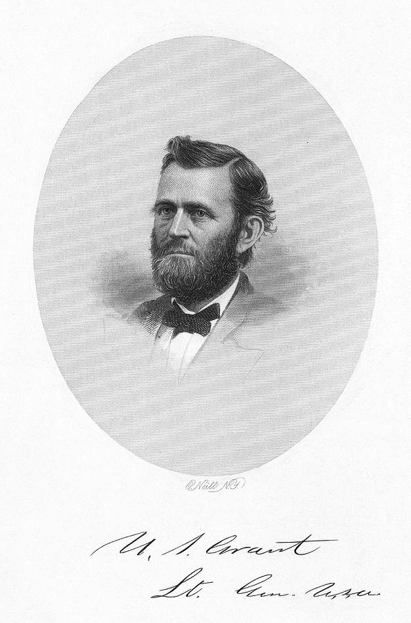1865 Painting - Ulysses S by Granger