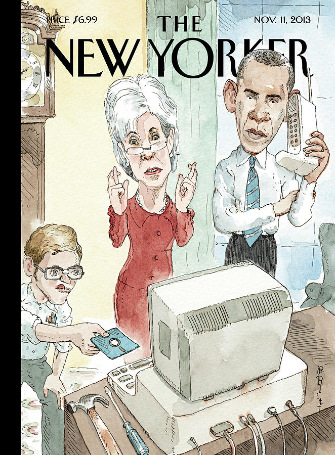Reboot Painting by Barry Blitt