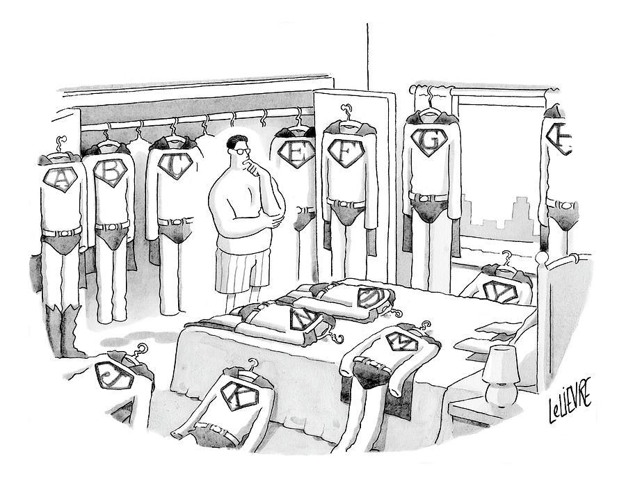 New Yorker July 31st, 2006 Drawing by Glen Le Lievre
