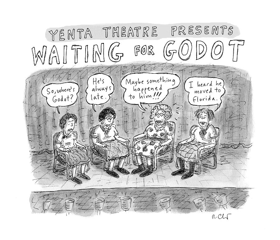 New Yorker November 28th, 2016 Drawing by Roz Chast