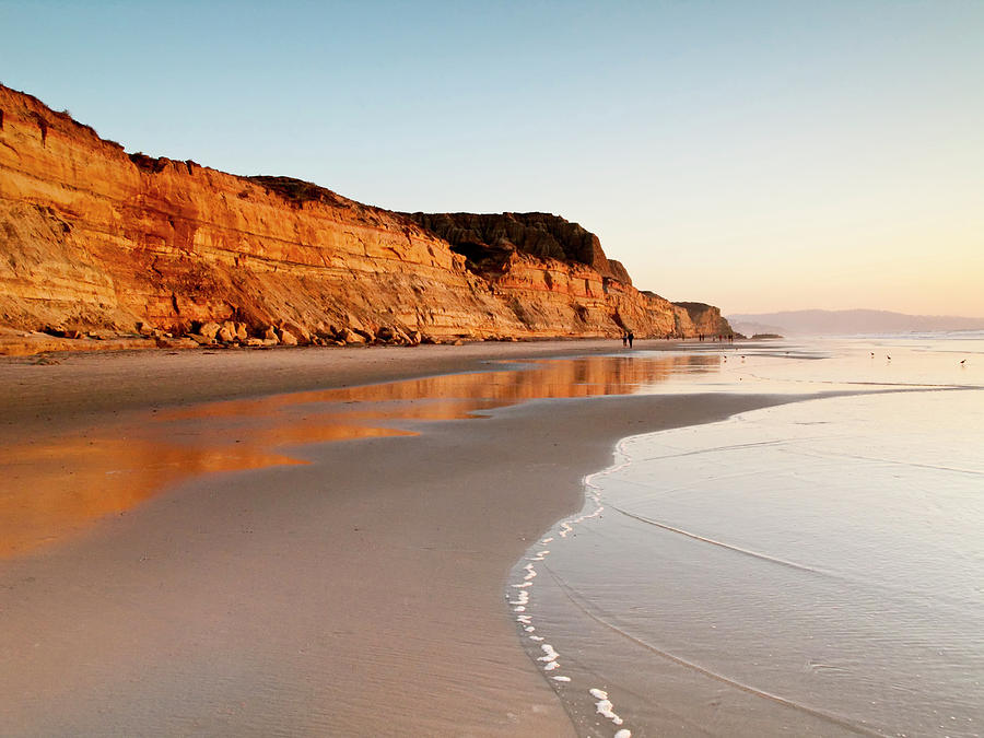 Beach Photograph - Usa, California, La Jolla by Ann Collins