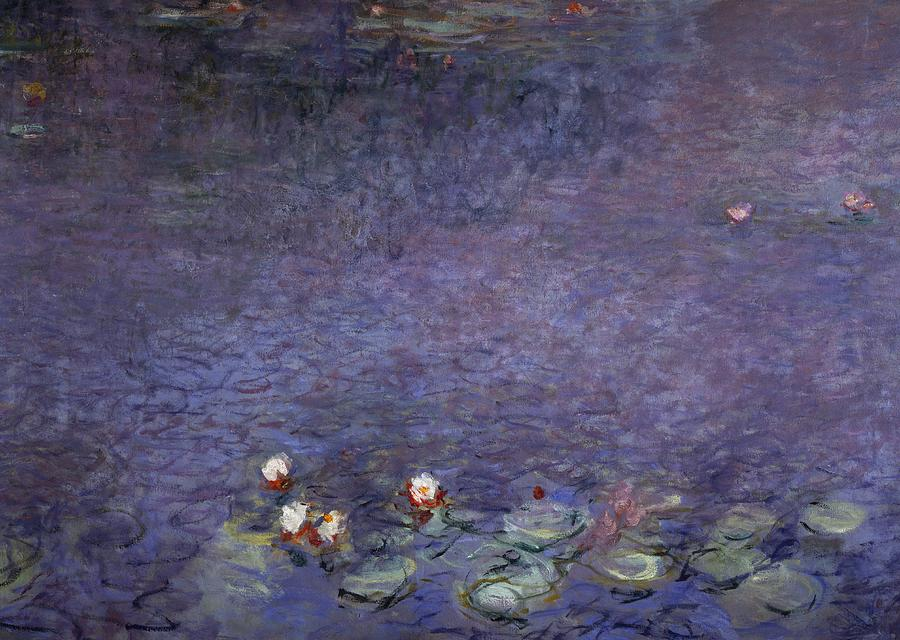 Painting Painting - Water Lilies by Claude Monet