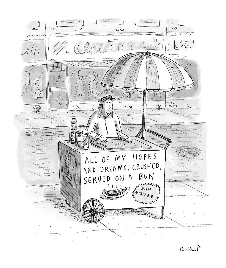 New Yorker September 12th, 2005 Drawing by Roz Chast