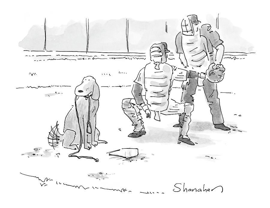 October 10th Drawing - New Yorker October 10th, 2005 by Danny Shanahan