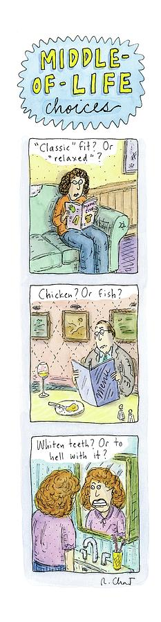 New Yorker June 4th, 2007 Drawing by Roz Chast