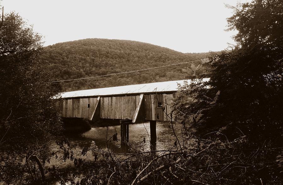 Bridge Photograph - 10602-17s by Mike Davis