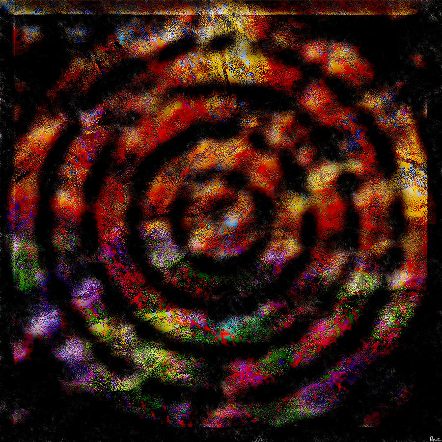 Abstract Digital Art - 1066 Abstract Thought by Chowdary V Arikatla