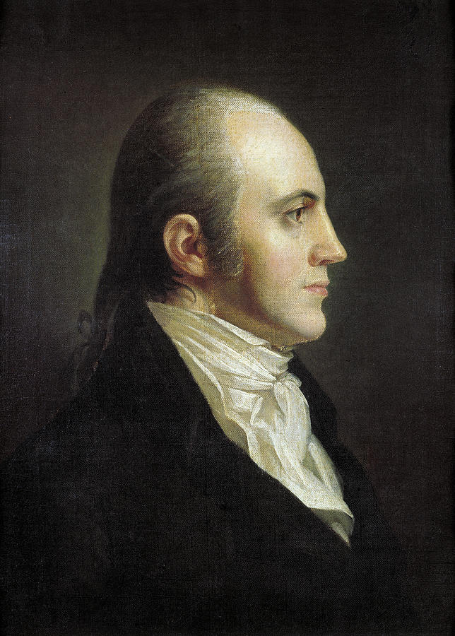 19th Century Painting - Aaron Burr (1756-1836) 11 by Granger