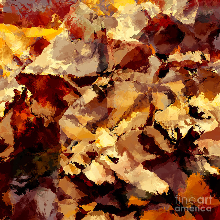 Abstract Painting - Abstract by T White