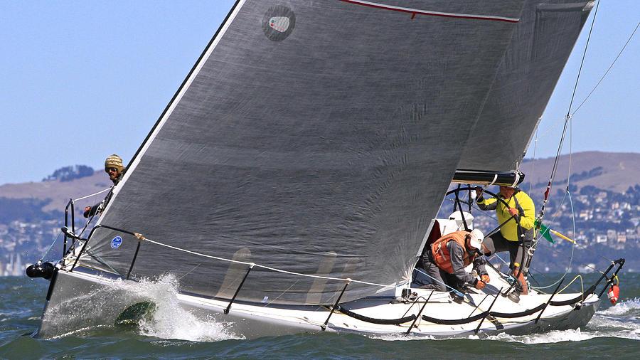 Bay Racing Photograph