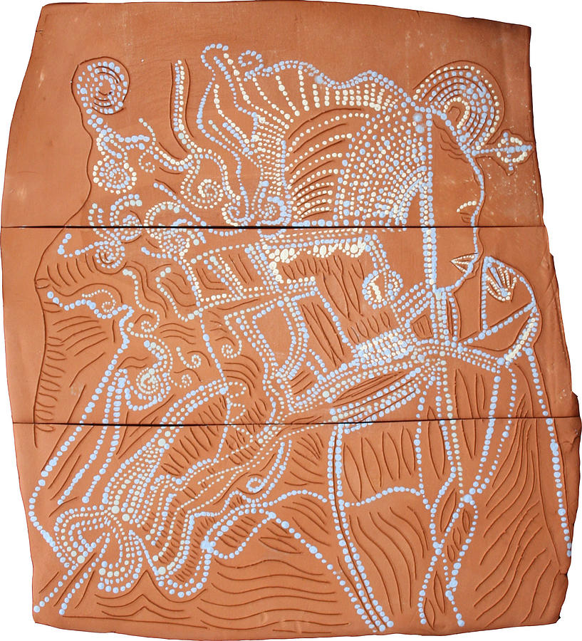 Our Lady Ceramic Art - Bikira Maria by Gloria Ssali