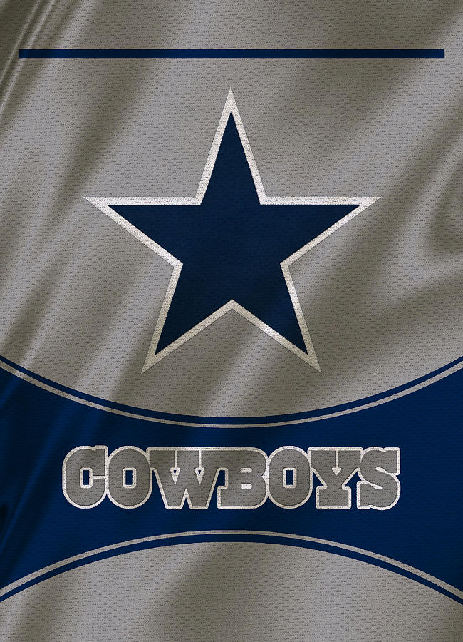 Cowboys Photograph - Dallas Cowboys Uniform by Joe Hamilton