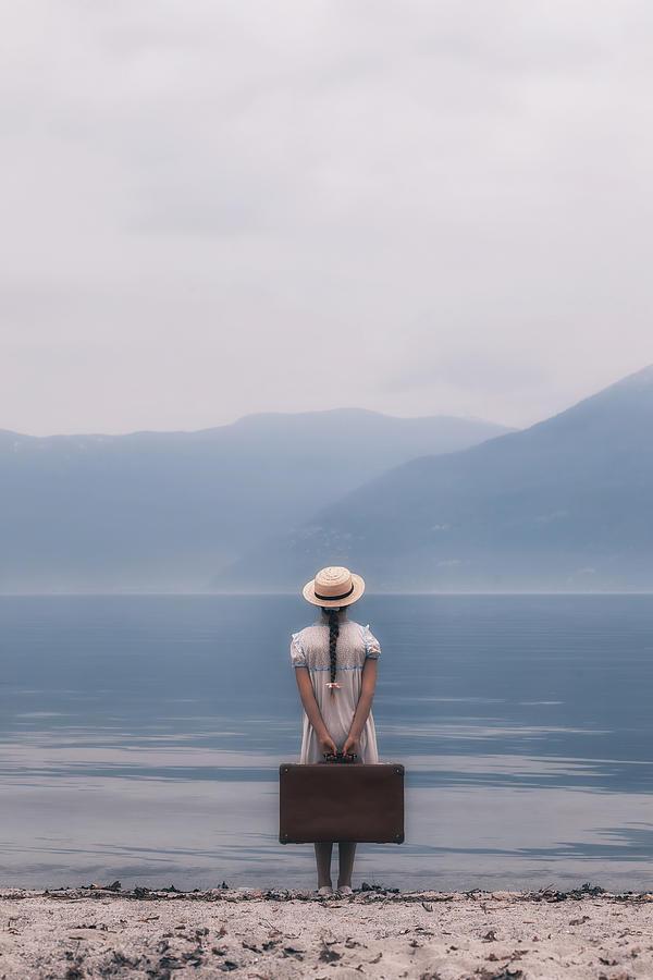 Girl Photograph - Farewell by Joana Kruse