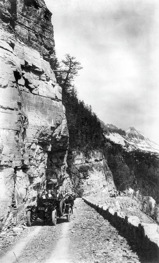 1920 Photograph - Glacier National Park by Granger