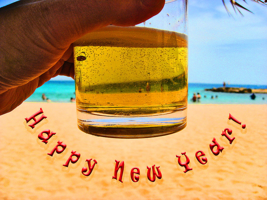 Tourism Photograph - Happy New Year by Andy Za