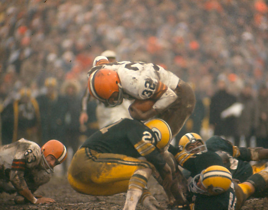 Classic Photograph - Jim Brown by Retro Images Archive