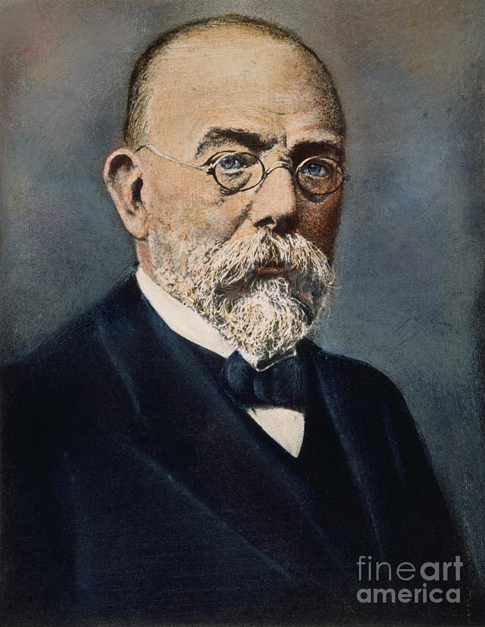 Robert Koch 1843 1910 Photograph By Granger