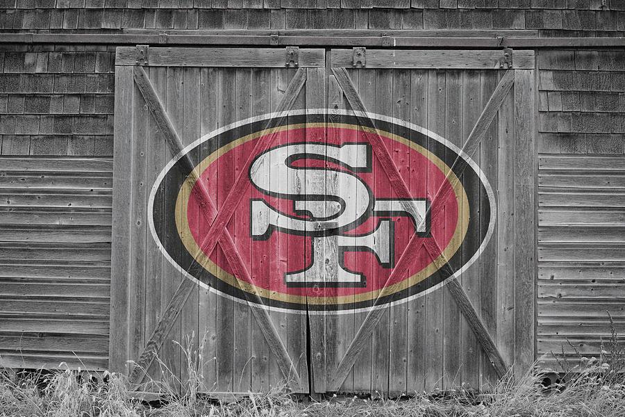 49ers Photograph - San Francisco 49ers by Joe Hamilton