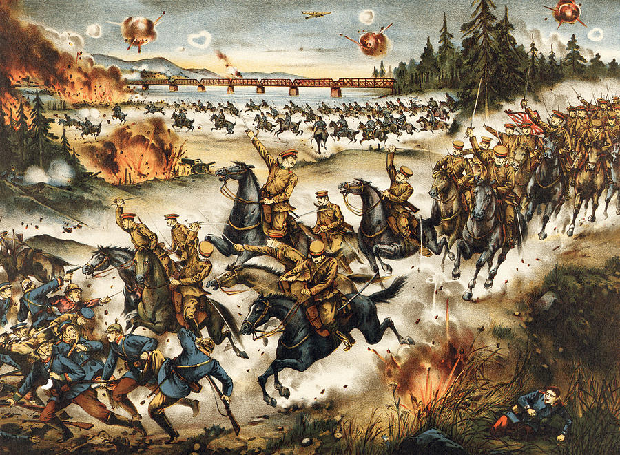 1919 Painting - Siberian Intervention, 1919 by Granger