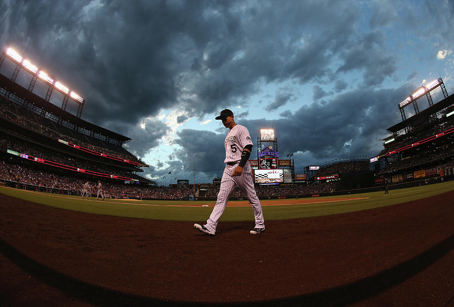 St Louis Cardinals V Colorado Rockies Photograph by Doug Pensinger