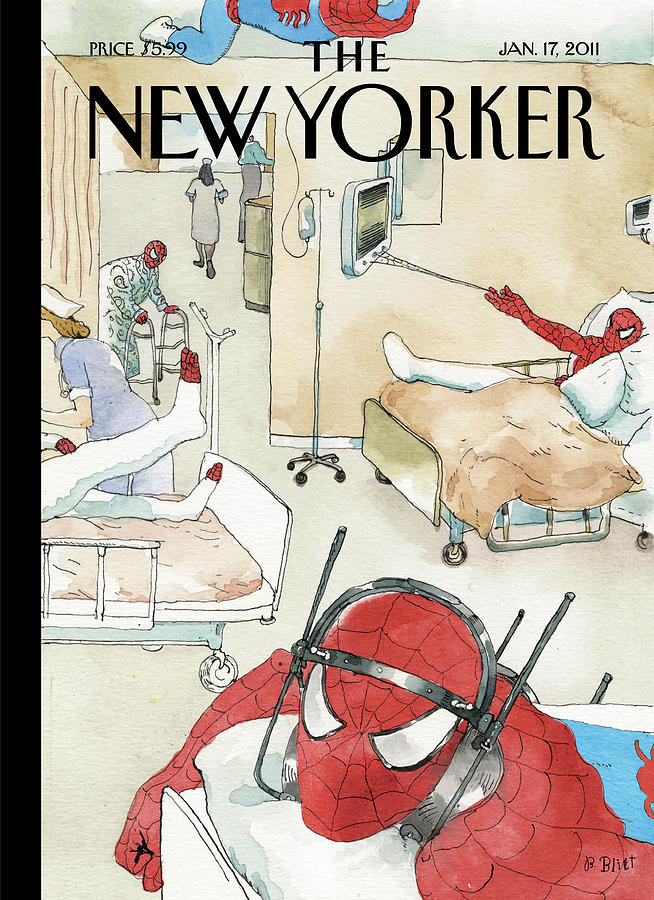New Yorker January 17th, 2011 Painting by Barry Blitt