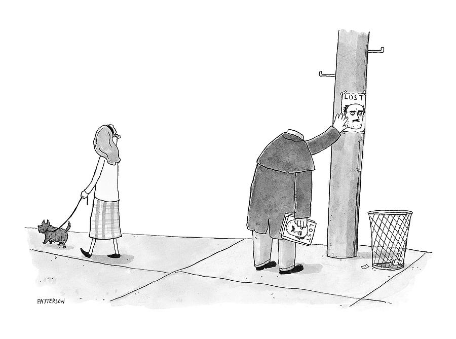 New Yorker January 28th, 2008 Drawing by Jason Patterson