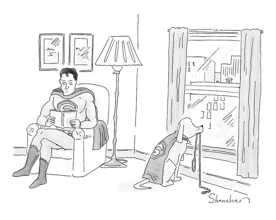New Yorker March 17th, 2008 Drawing by Danny Shanahan