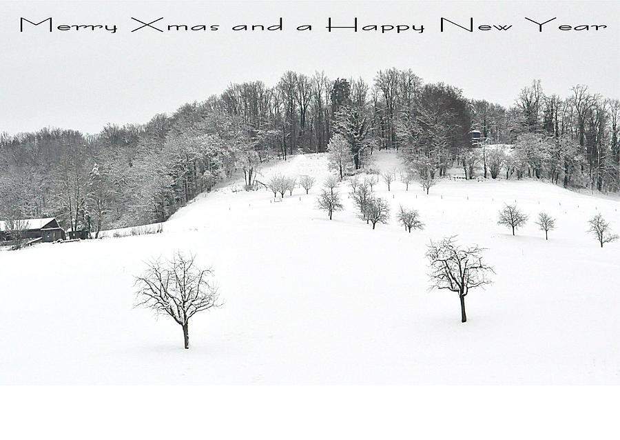 111 - Snowscape Photograph by Patrick King