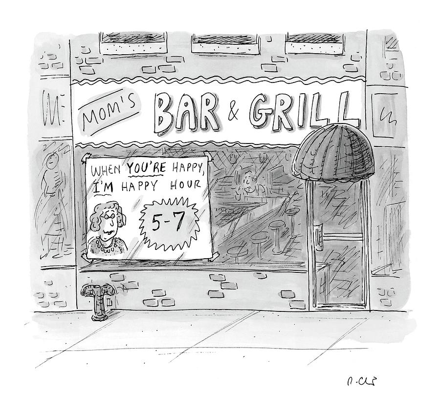 New Yorker May 15th, 2006 Drawing by Roz Chast