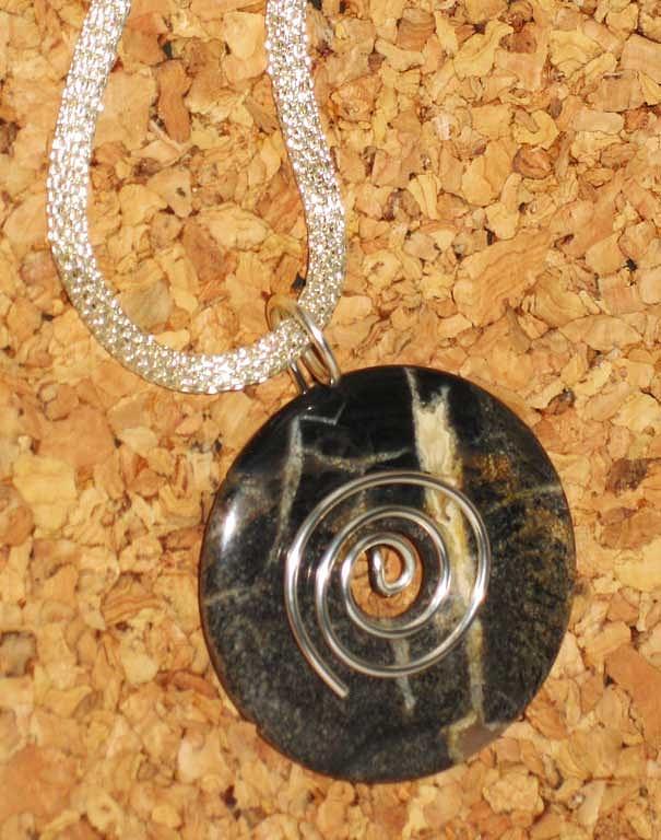 Sterling Silver Jewelry - 1125 Vortex 2 by Dianne Brooks