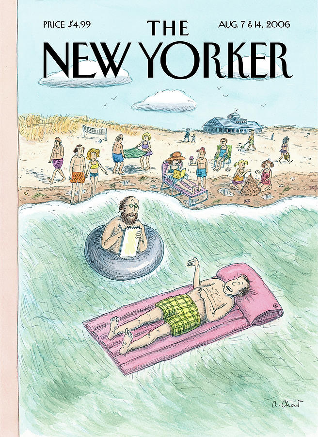 New Yorker August 7th, 2006 Painting by Roz Chast