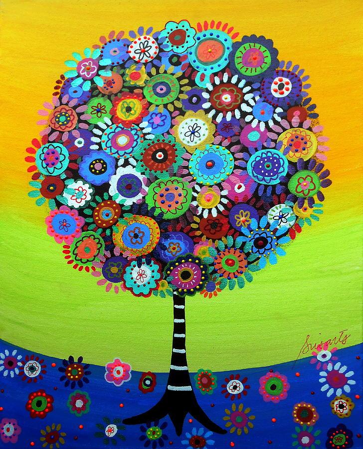 Tree Of Life Painting By Pristine Cartera Turkus