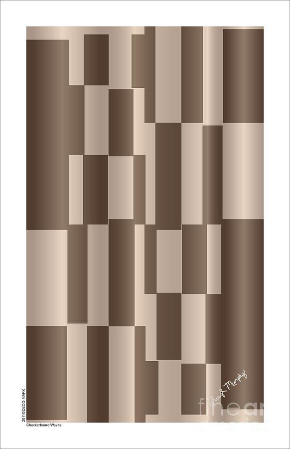 119 Checkerboard Waves by Cheryl Turner