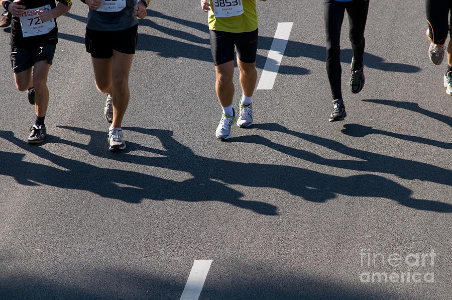 Marathon Photograph - 11th Poznan Marathon by Michal Bednarek