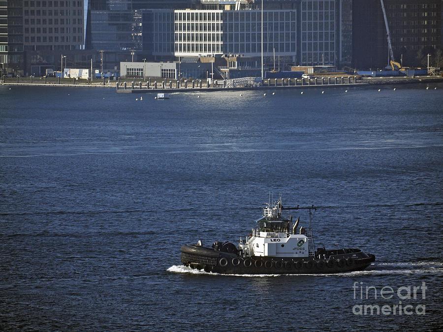 America Photograph - Boston Harbor  by Howard Stapleton